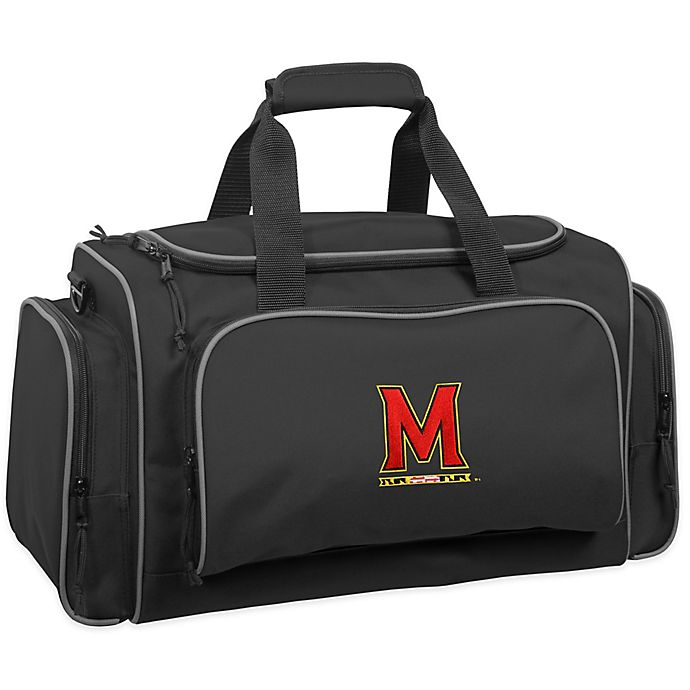 Alternate image 1 for WallyBags® University of Maryland 21-Inch Duffle