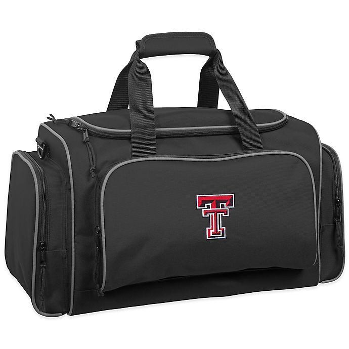 Alternate image 1 for WallyBags® Texas Tech University 21-Inch Duffle