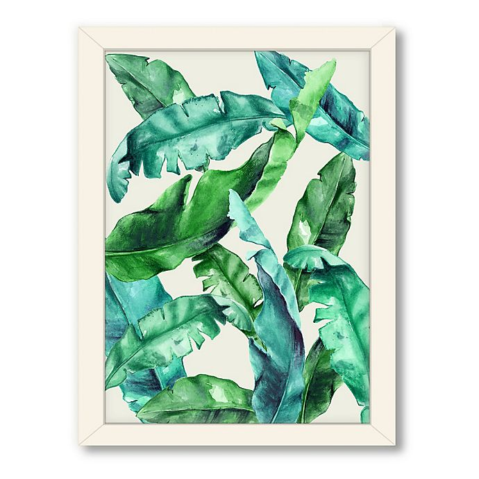 Alternate image 1 for Americanflat Urban Road Collection Tropical 1 Framed Art Work