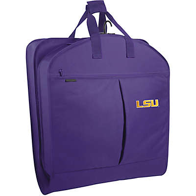 Louisiana State University 40-Inch Garment Bag with Pockets and Handles