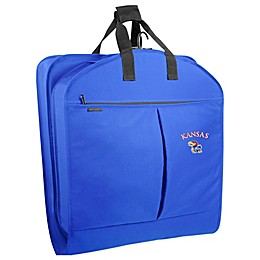 University of Kansas 40-Inch Garment Bag with Pockets and Handles