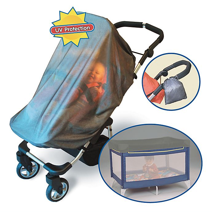 Alternate image 1 for Jolly Jumper® Solar Safe Stroller and Playard Net