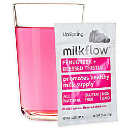 UpSpring Baby Milkflow Fenugreek Blessed Thistle 18-Pack Drink Mix