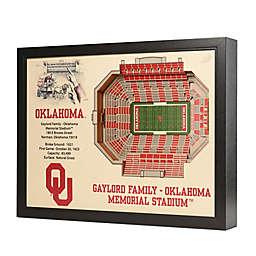 University of Oklahoma Stadium Views Wall Art