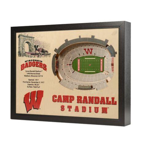 University Of Wisconsin Stadium Views Wall Art Bed Bath
