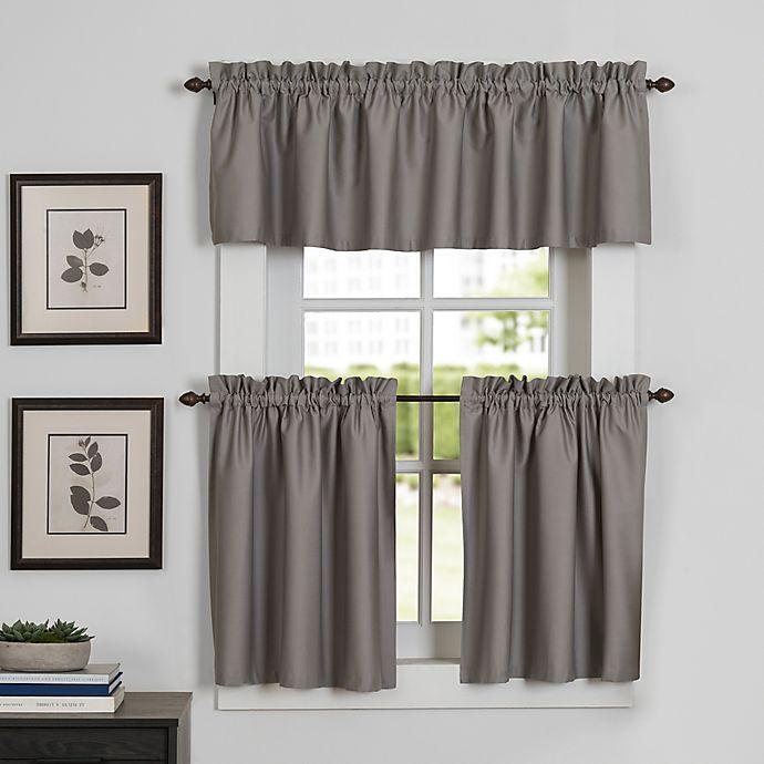 Alternate image 1 for Newport Kitchen Window Curtain Tier Pair