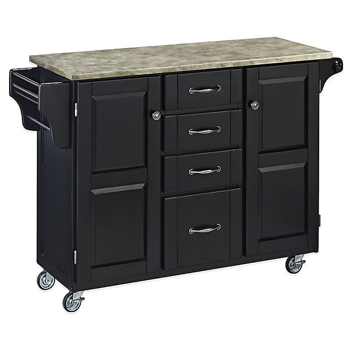 Alternate image 1 for Home Styles Create-a-Cart with Concrete Top