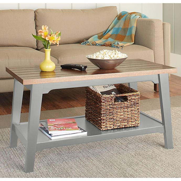 Chatham House Newport Coffee Table In Grey