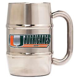 University of Miami Barrel Mug