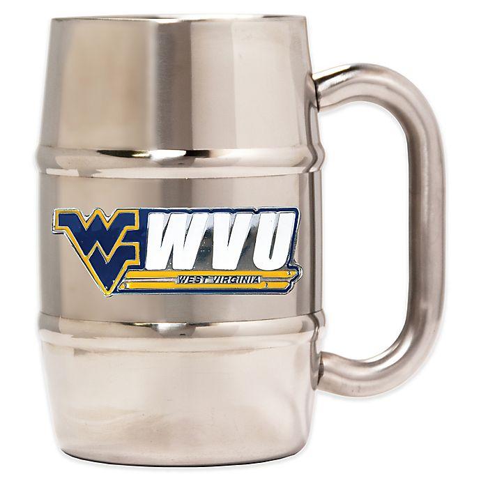 Alternate image 1 for West Virginia University Barrel Mug