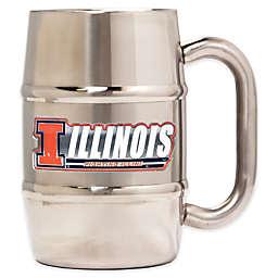 University of Illinois Barrel Mug