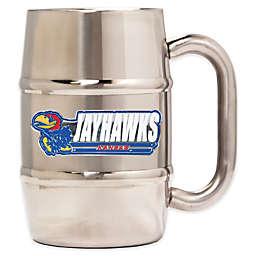 University of Kansas Barrel Mug