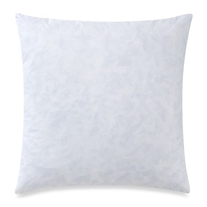 Alternate image 1 for Feather 22-Inch Square Throw Pillow Insert in White