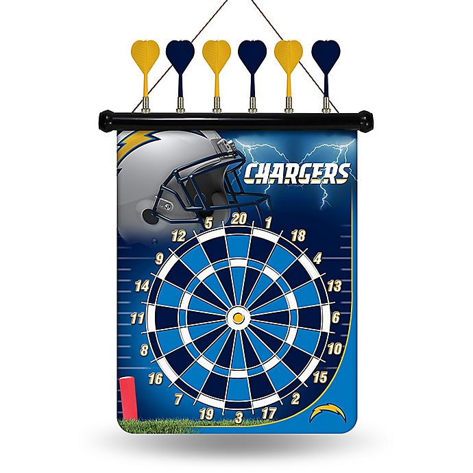 San Diego Chargers Bedding: Buy NFL San Diego Chargers Magnetic Dart Board From Bed