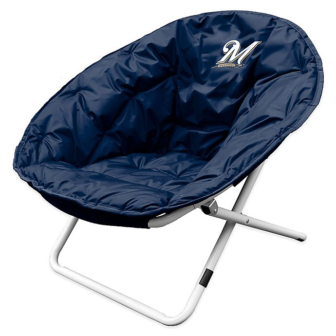 Superb Mlb Milwaukee Brewers Sphere Chair Bed Bath Beyond Gmtry Best Dining Table And Chair Ideas Images Gmtryco