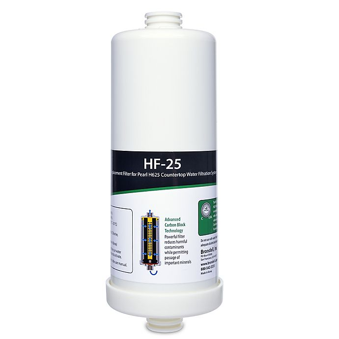 Alternate image 1 for Brondell® H2O+ Pearl HF-25 Carbon Block Replacement Water Filter