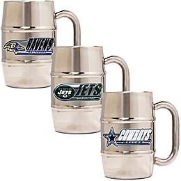 NFL Barrel Mug Collection