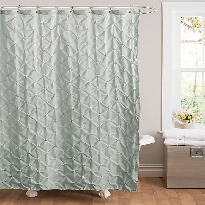 Alternate image 1 for Lake Como Shower Curtain in Blue