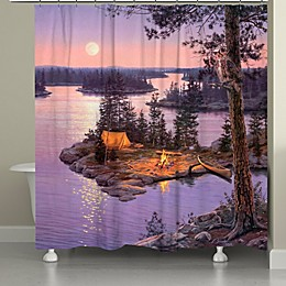 Laural Home® Moon Dance Shower Curtain