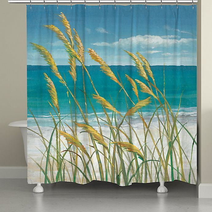 Alternate image 1 for Laural Home® Summer Breeze Shower Curtain
