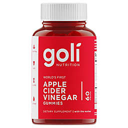 Goli Nutrition 60-Count Apple Cider Vinegar Gummies