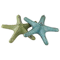 Crestview Collection Starfish Statues (Set of 2)