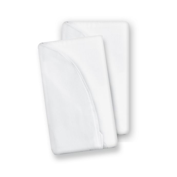 Alternate image 1 for Baby Delight® Snuggle Nest™ Surround Accessory Sheets in White (2-Pack)