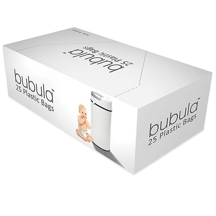 Alternate image 1 for Bubula™ 25-Count Plastic Diaper Pail Refill Bags