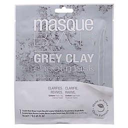 masqueBAR™ 1-Count Sheet Mask in Grey Clay