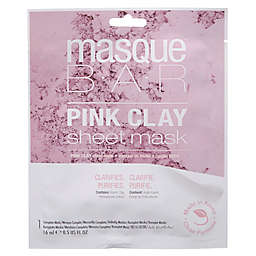 masqueBAR™ 1-Count Sheet Mask in Pink Clay