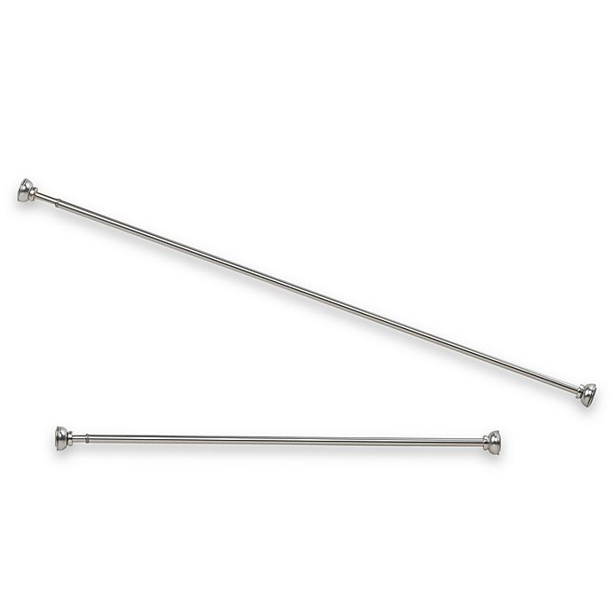 Spring Tension Pewter Curtain Rod Bed Bath And Beyond Canada