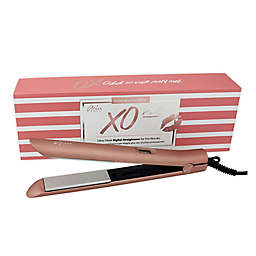 Aria Beauty XO Pro 1-Inch Infrared Straightener in Rose Gold