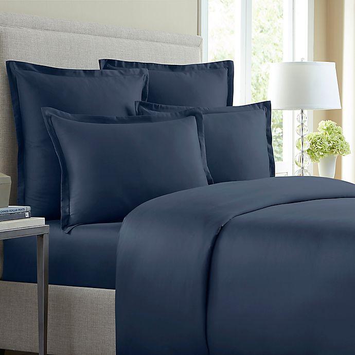 Alternate image 1 for Wamsutta® 620-Thread-Count Solid Duvet Cover