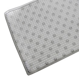 Splash Home Covert Bath Mat in Grey
