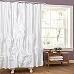 Serena Shower Curtain in White