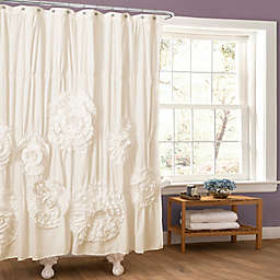 Serena Shower Curtain in Ivory