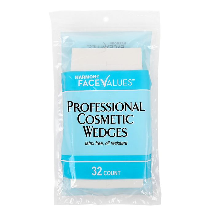 Alternate image 1 for Harmon® Face Values™ 32-Count Professional Cosmetic Wedges