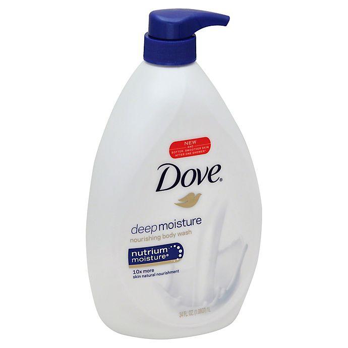 Dove 34 Oz Deep Moisture Body Wash With Nutrium Moisture Bed Bath Beyond
