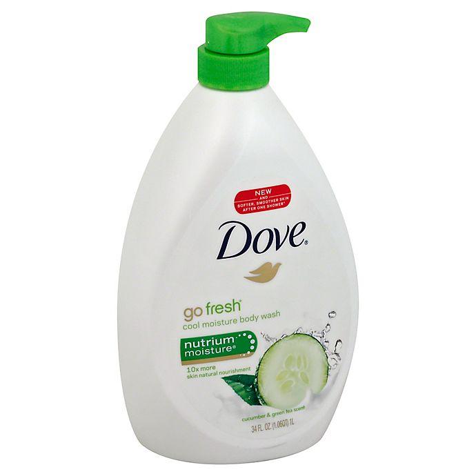 Dove Go Fresh 34 Oz Cool Moisturize Body Wash Bed Bath Beyond