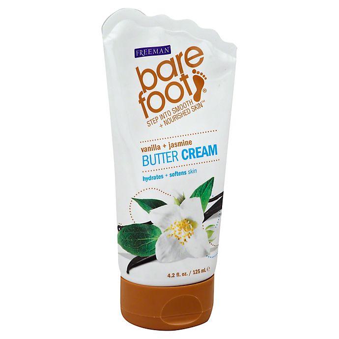 Alternate image 1 for Freeman® Bare Foot® 4.2 oz. Butter Cream in Vanilla + Jasmine