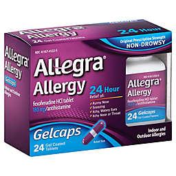 Allegra® Allergy 24-Count 24 Hour Gelcaps