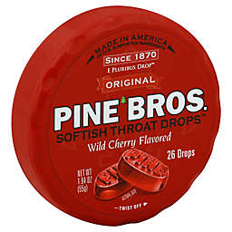 Pine Bros.® Softish Throat Relief Drops™ 26-Count in Wild Cherry