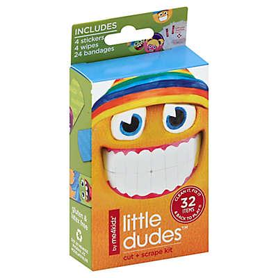 me4kidz® Little Dudes 32-Piece Bandages Cut + Scrape Kit