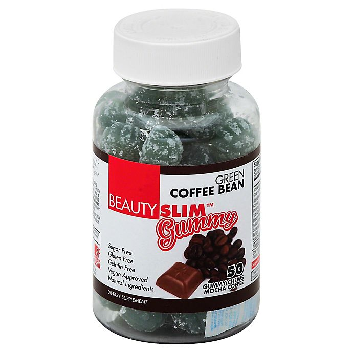 Beautyfit Beauty Slim 50 Count Green Coffee Bean Gummy Bed
