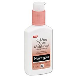 Neutrogena® 4 oz. Oil-Free Acne Moisturizer in Pink Grapefruit