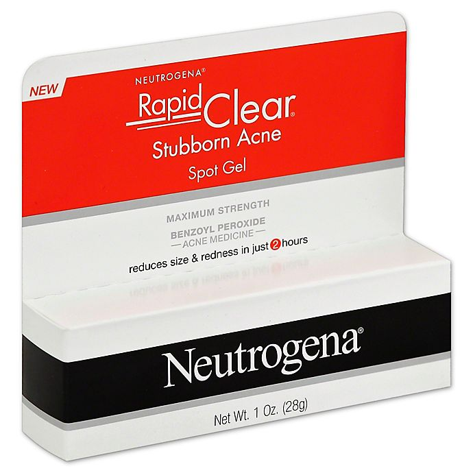 Alternate image 1 for Neutrogena® Rapid Clear® 1 oz. Stubborn Acne Spot Gel