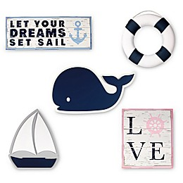Nautica Kids® Mix & Match Nautical Wall Décor Collection