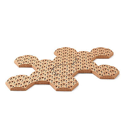 Amorim Cork Fit In 2-Piece Trivet Set