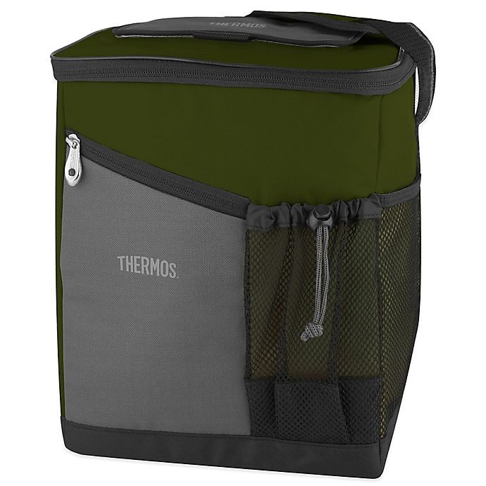 Alternate image 1 for Thermos® Insulated Soft Sided Cooler in Green