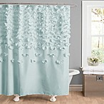 Lucia Shower Curtain in Blue